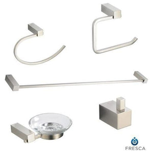 Bathroom Accessories Fresca FAC0400 Ottimo 5-Piece Accessory