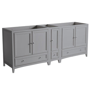 Vanity Base Cabinets Fresca FCB20-361236GR Oxford 83 Gray