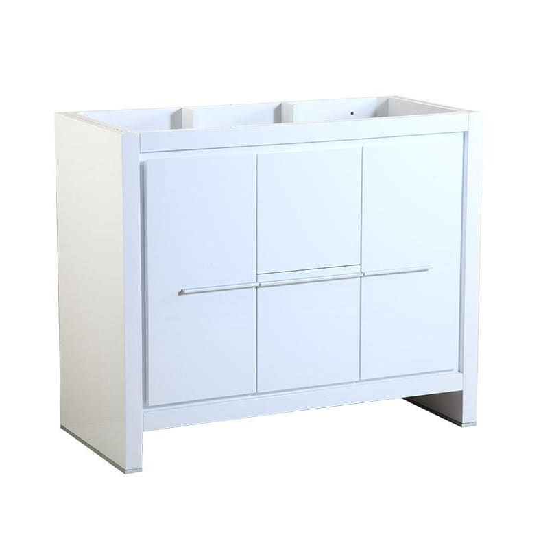 Vanity Base Cabinets Fresca FCB8140WH Allier 40 White Modern