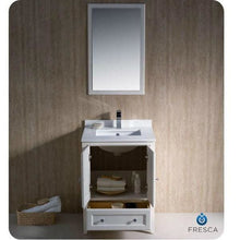 Vanities Fresca FVN2024AW-FFT9151CH Oxford 24 Antique White