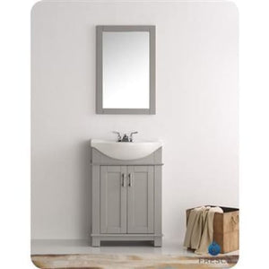 Vanities Fresca FVN2302GR-CMB Hartford 24 Gray Traditional