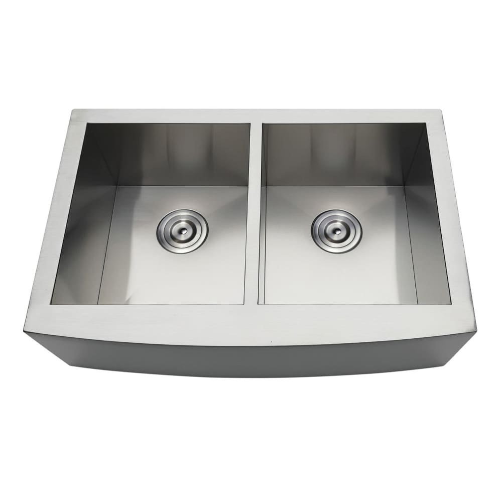 Farmhouse Sink Kingston Brass GKTDF30209 Gourmetier Drop-In