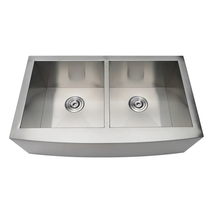 Farmhouse Sink Kingston Brass GKTDF33209 Gourmetier Drop-In