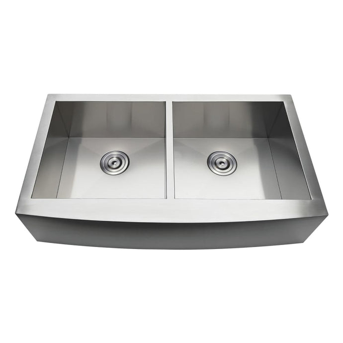 Farmhouse Sink Kingston Brass GKTDF36209 Gourmetier Drop-In