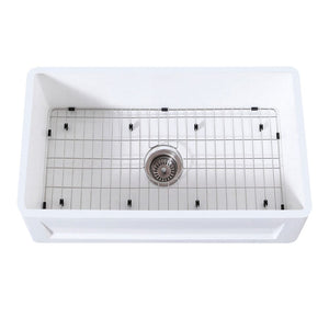 Farmhouse Sink Kingston Brass KGKFA301810SQ Gourmetier