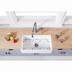 Farmhouse Sink Kingston Brass KGKFA361810RM Gourmetier