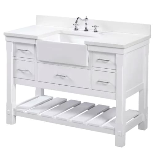 Sink Kitchen Bath Collection Charlotte 48 Single Farmhouse