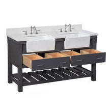 Load image into Gallery viewer, Sink Kitchen Bath Collection Charlotte 60 Double Farmhouse