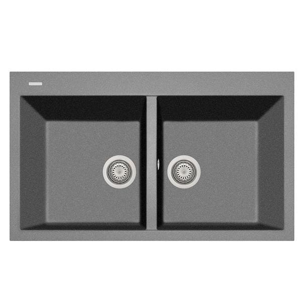Kitchen Sink LaToscana AM8620-42 Plados 34 x 20 Double Basin