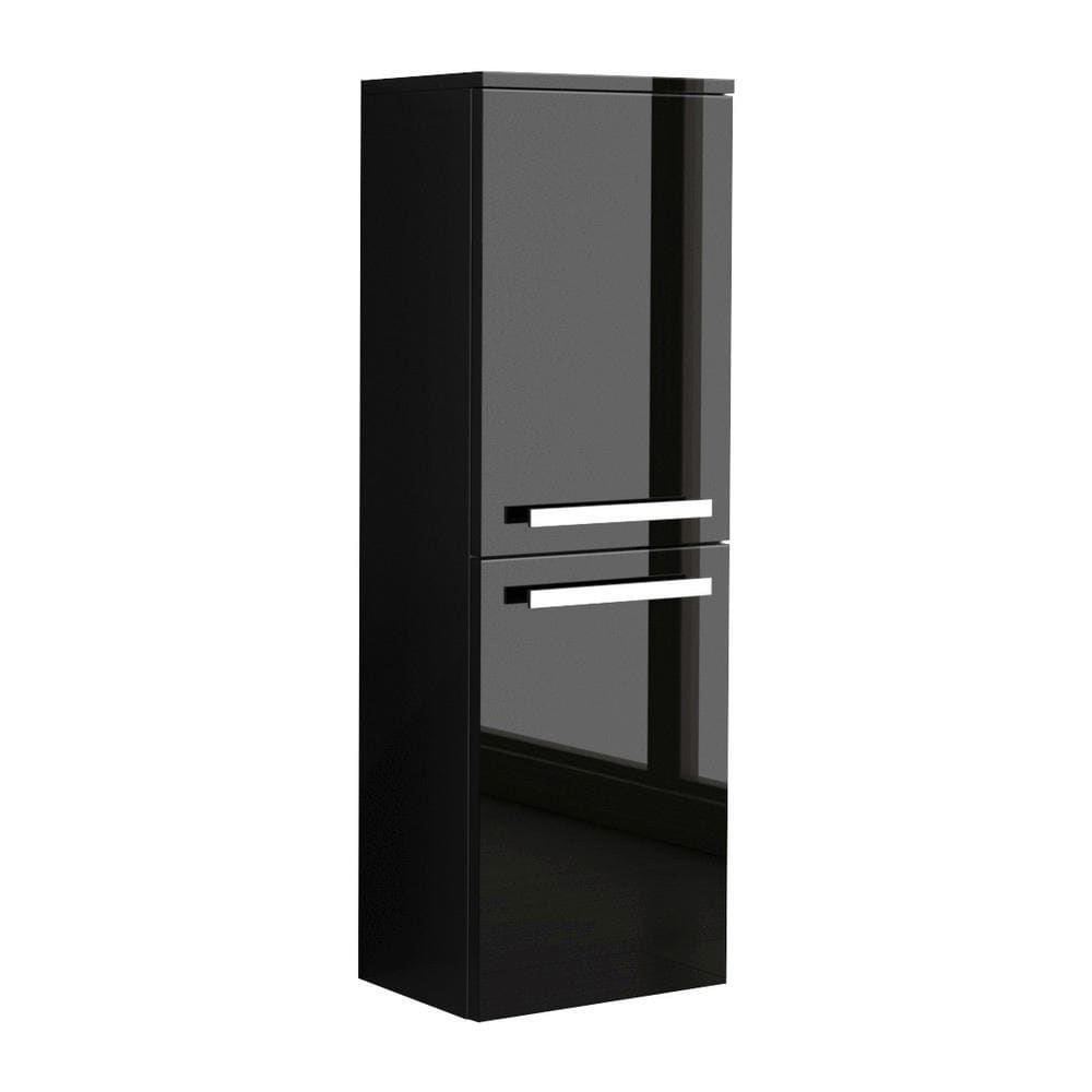 Vanity LaToscana AMC0-23B Ambra linen tower in Black