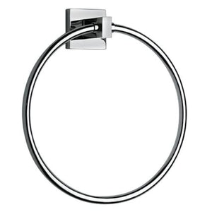 Bath Accessories LaToscana SQCR07 Square Towel Ring