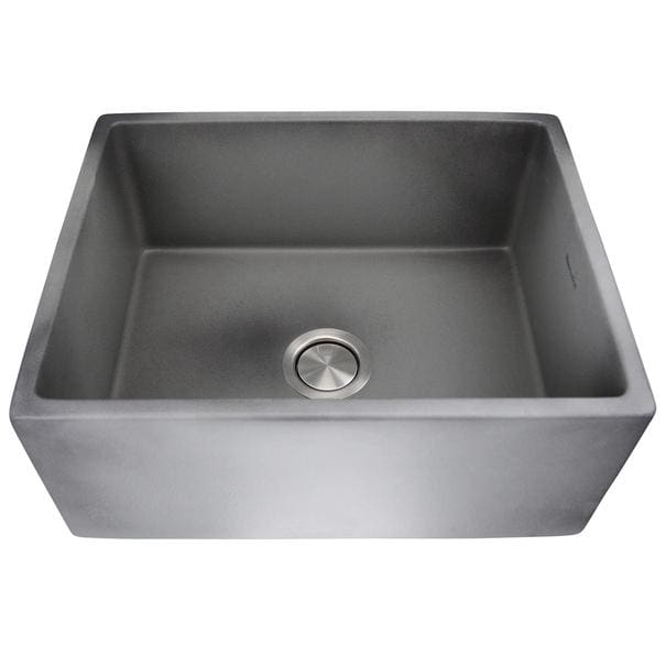 Kitchen Sink Nantucket FCFS2418S-Concrete Sinks 23-Inch