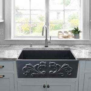 Kitchen Sink Nantucket FCFS3320S-FiligreeMBL Sinks 33-Inch