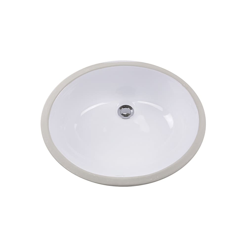Bathroom Sink Nantucket GB-15x12-W Sinks 15 Inch x 12 Glazed