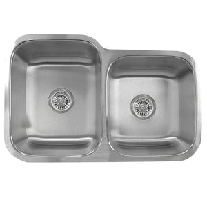 Kitchen Sink Nantucket NS6040-18 Sinks' - 32 Inch 60/40