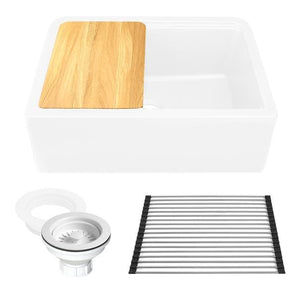 Kitchen Sink Nantucket PR3020-APS-W Sinks 33-inch Reversible