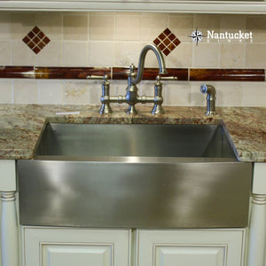 Farmhouse Sink Nantucket Sinks APRON302010-SR-16 30