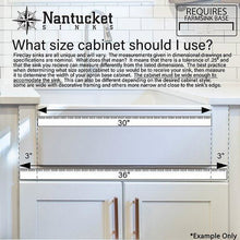 Load image into Gallery viewer, Farmhouse Sink Nantucket Sinks Chatham-24 24 fireclay Apron