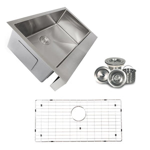 Farmhouse Sink Nantucket Sinks EZApron33-5.5 33 Stainless