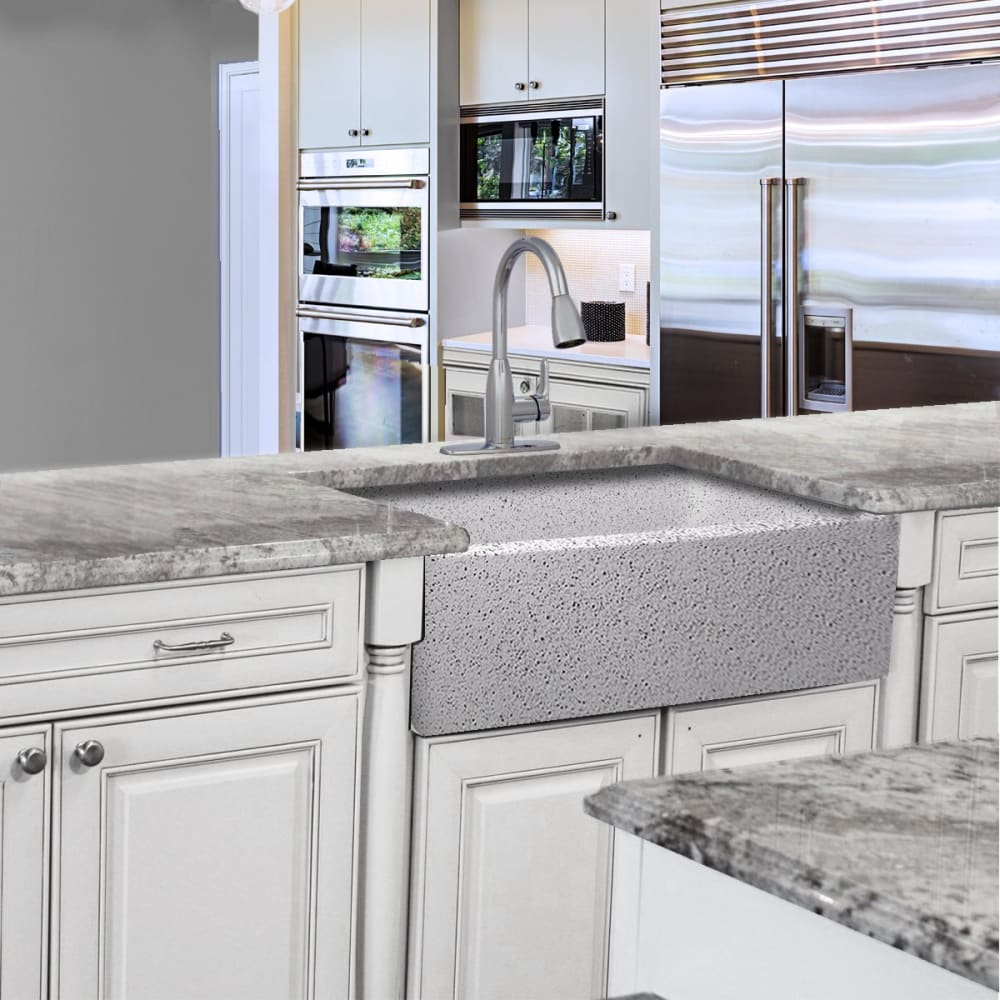 Farmhouse Sink Nantucket Sinks FCFS3020S-PietraSarda 30