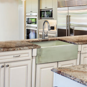 Farmhouse Sink Nantucket Sinks FCFS3020S-ShabbyGreen 30