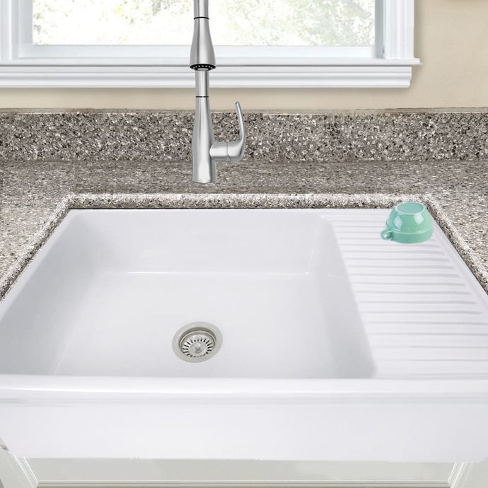 Farmhouse Sink Nantucket Sinks FCFS36-DB 36 Fireclay Italian