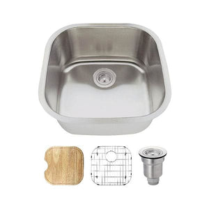 Kitchen/Bathroom Sink Polaris P0202-18-ENS The P0202 18