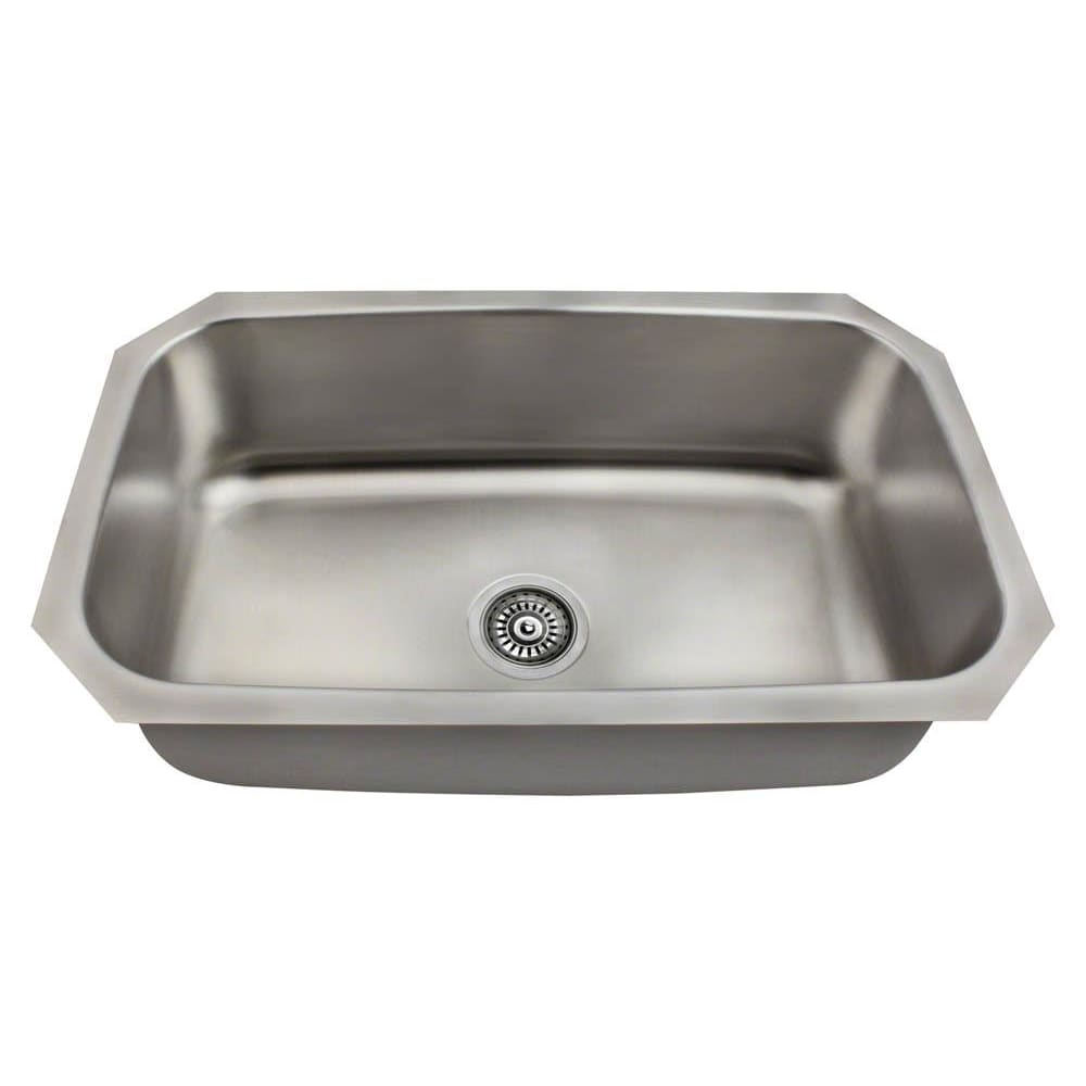 Kitchen Sink Polaris P0301US Stainless Steel 300-Grade