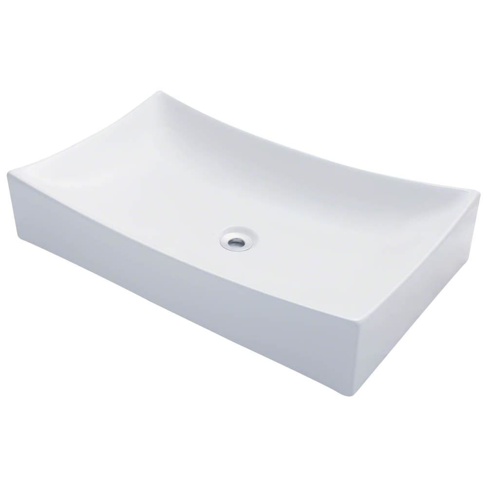 Bathroom Sink Polaris P033VW Porcelain Vessel Vitreous China