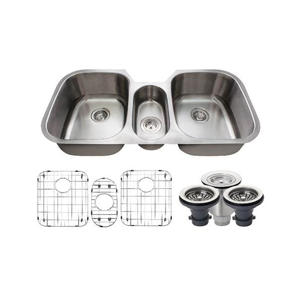 Kitchen Sink Polaris P1254-16-ENS The P1254 16 Gauge