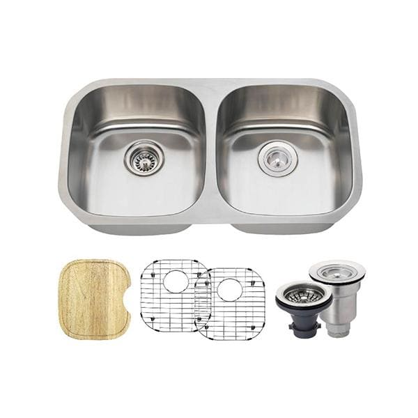 Kitchen Sink Polaris P205-16-ENS The P205 16 Gauge Ensemble