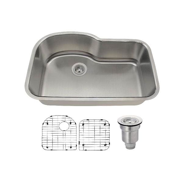 Kitchen Sink Polaris P643-18-ENS The P643 18 Gauge Ensemble