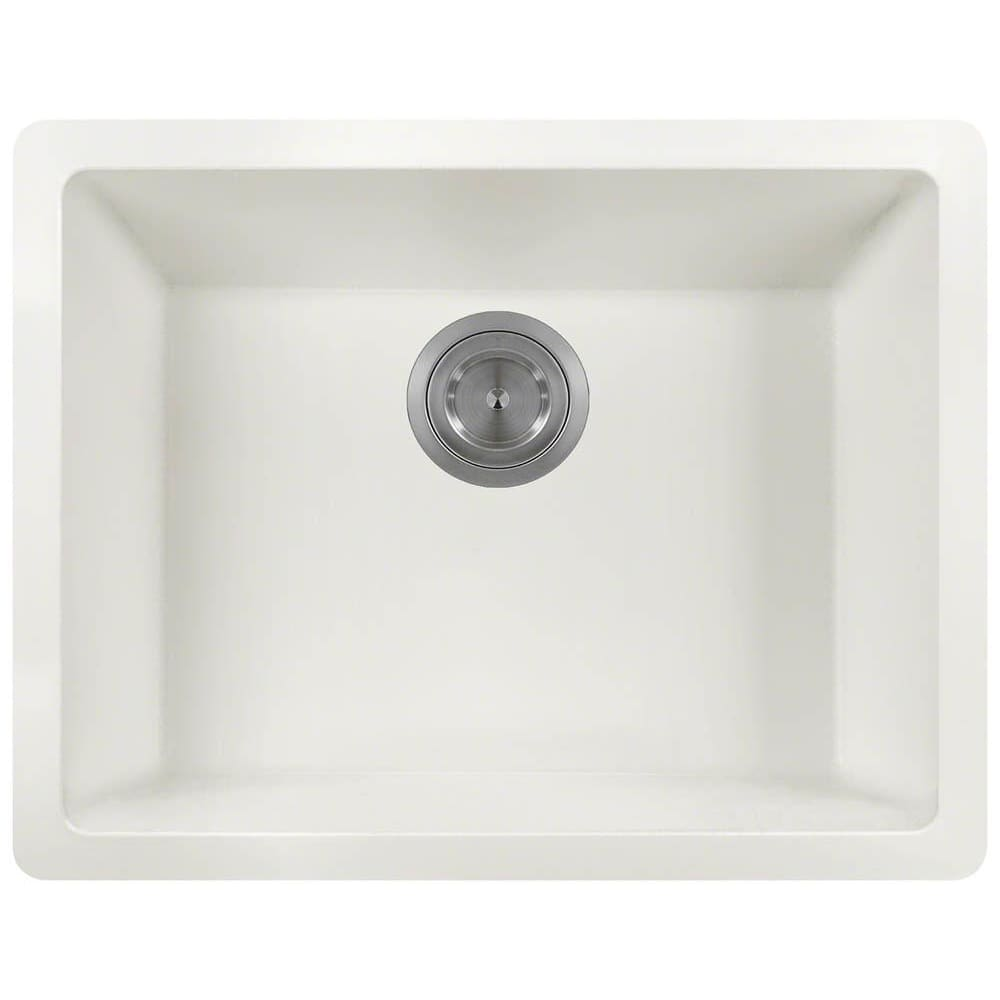 Kitchen Sink Polaris P808W Single Bowl AstraGranite 80%