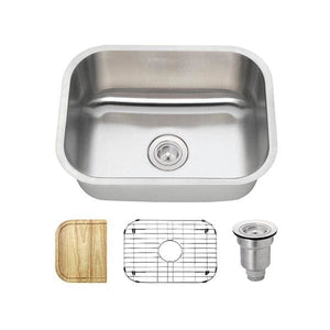 Kitchen Sink Polaris P8132-18-ENS The P8132 18 Gauge
