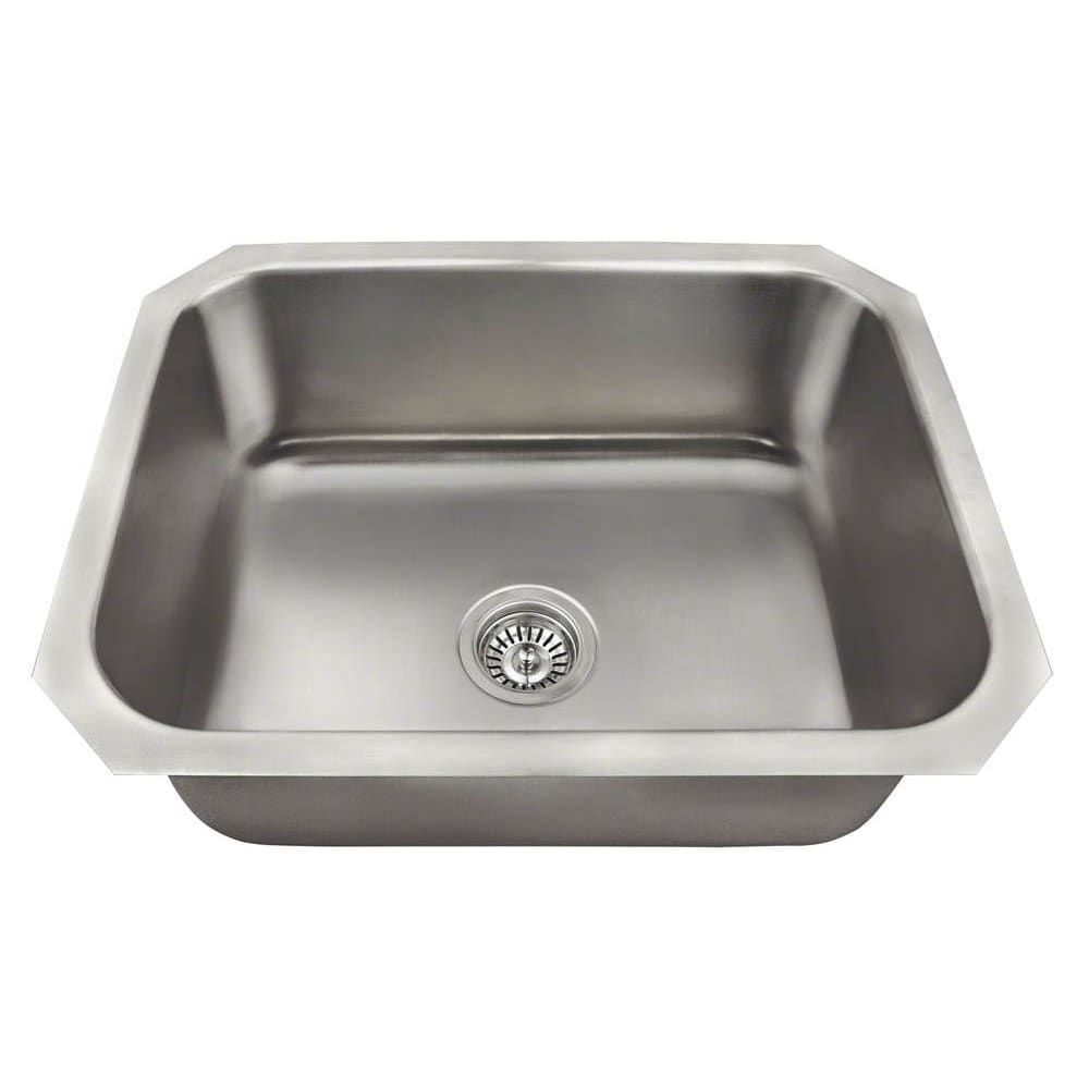 Kitchen Sink Polaris P8301US Single Bowl Stainless Steel