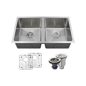 Kitchen Sink Polaris PD0213-ENS The PD0213 18 Gauge Ensemble