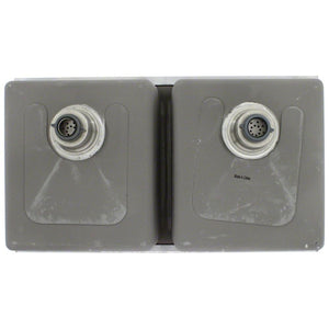 Kitchen Sink Polaris PD0213 Undermount 3/4 Radius Stainless
