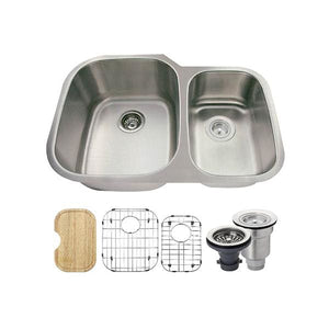 Kitchen Sink Polaris PL605-ENS The PL605 18 Gauge Ensemble