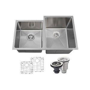 Kitchen Sink Polaris PR0213-ENS The PR0213 18 Gauge Ensemble