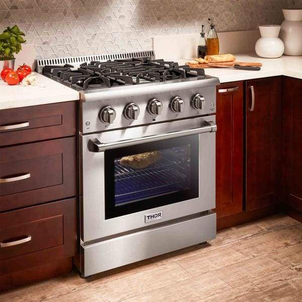 Range Thor Kitchen HRG3080ULP 30 4.2 cu. ft. Professional