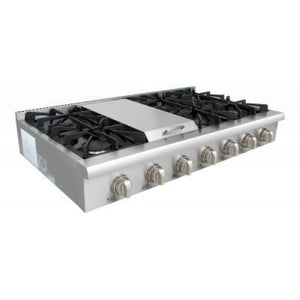 Range Top Thor Kitchen HRT4806U 48 in. Gas Rangetop in