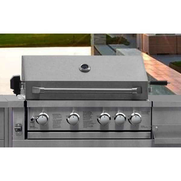 BBQ Grill Thor Kitchen MK04SS304 Pro Style Built-In Liquid