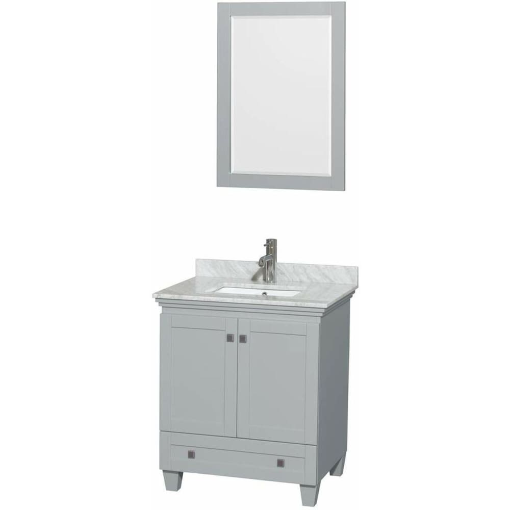 Vanity Set Wyndham WCV800030SOYCMUNSM24 Acclaim 30 Inch