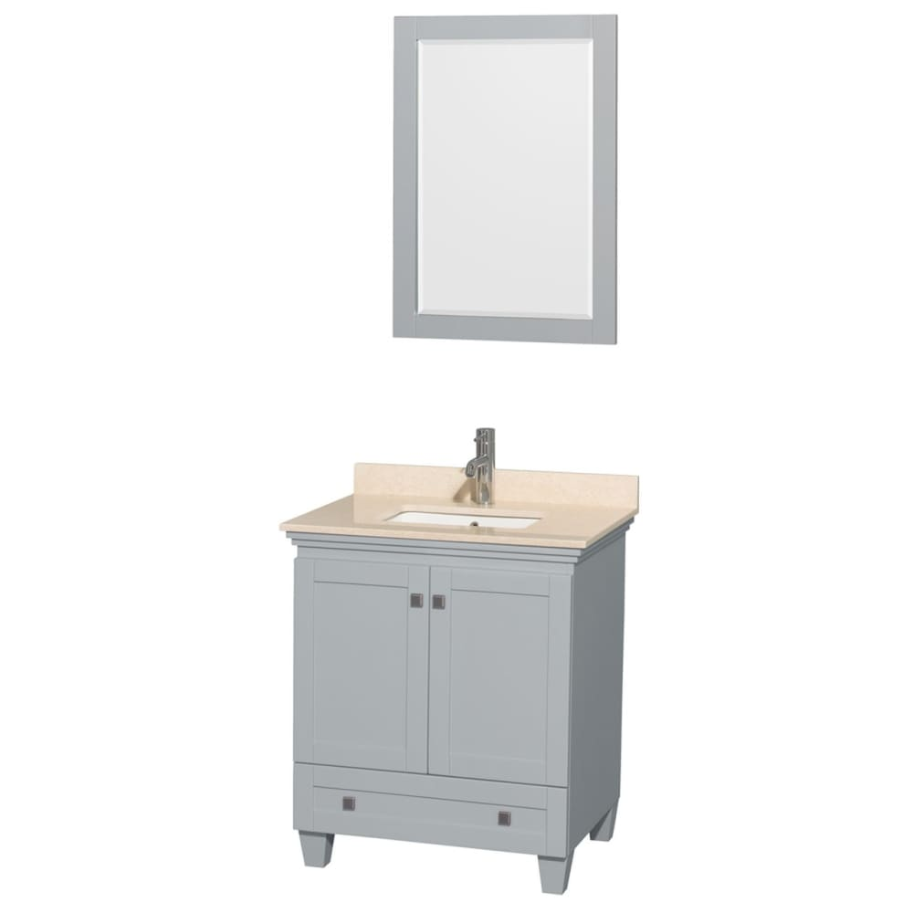 Vanity Set Wyndham WCV800030SOYIVUNSM24 Acclaim 30 Inch