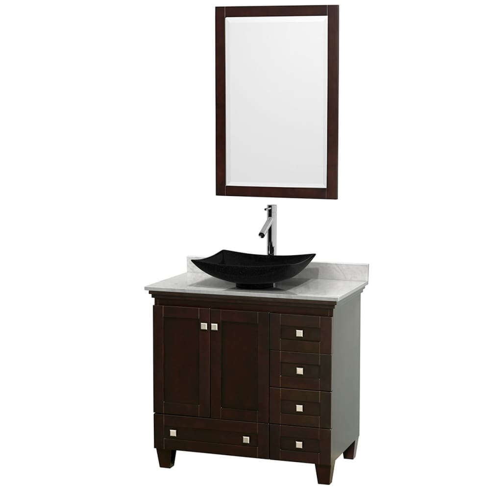 Vanity Set Wyndham WCV800036SESCMGS4M24 Acclaim 36 Inch