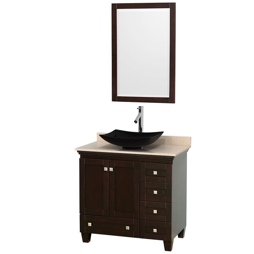 Vanity Set Wyndham WCV800036SESIVGS4M24 Acclaim 36 Inch