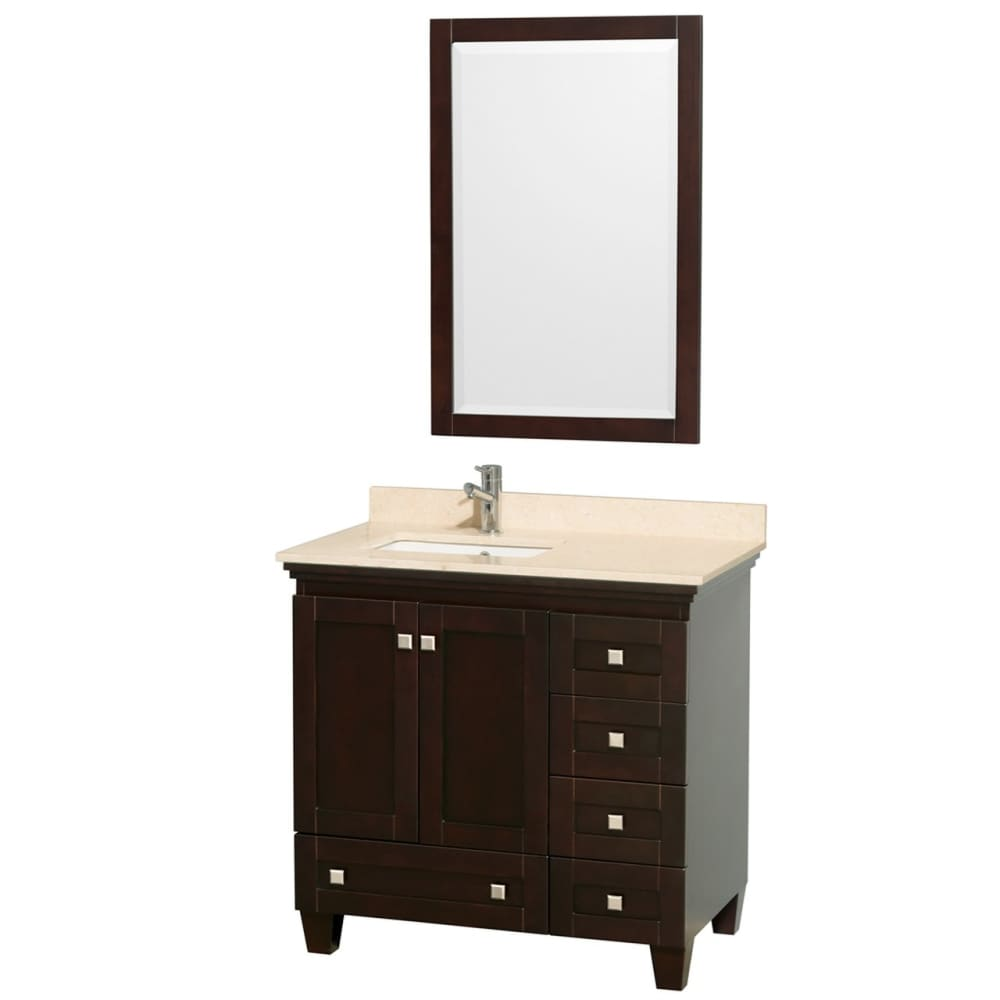 Vanity Set Wyndham WCV800036SESIVUNSM24 Acclaim 36 Inch