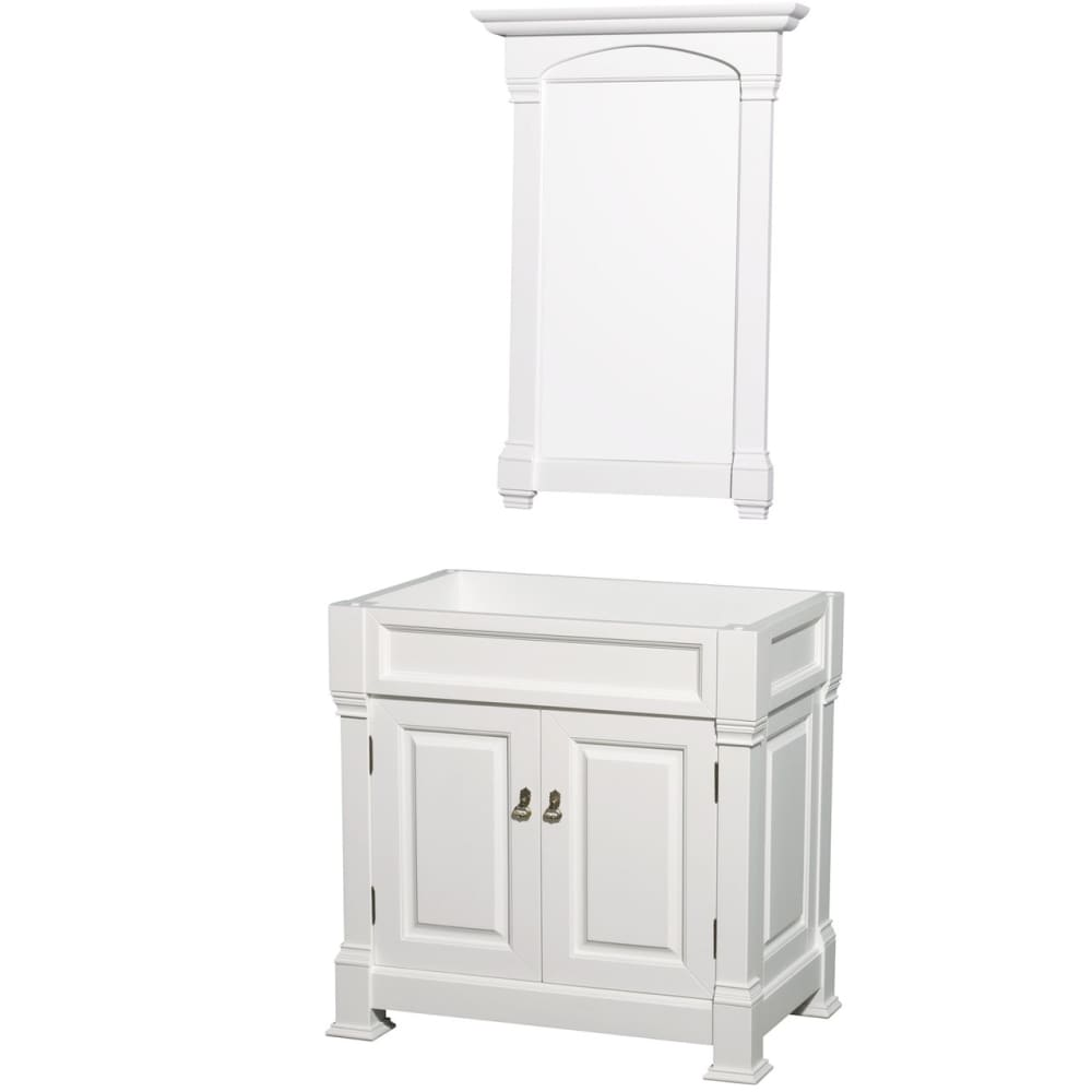 Vanity Cabinet Wyndham WCVTRAS36SWHCXSXXM28 Andover 36 Inch
