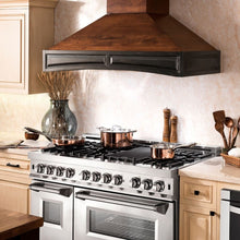 ZLINE 30 in. Wooden Wall Mount Range Hood in Antigua and Walnut - Includes Motor