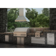 ZLINE 42 in.  Outdoor Island Mount Range Hood in Stainless Steel (597i-304-42)